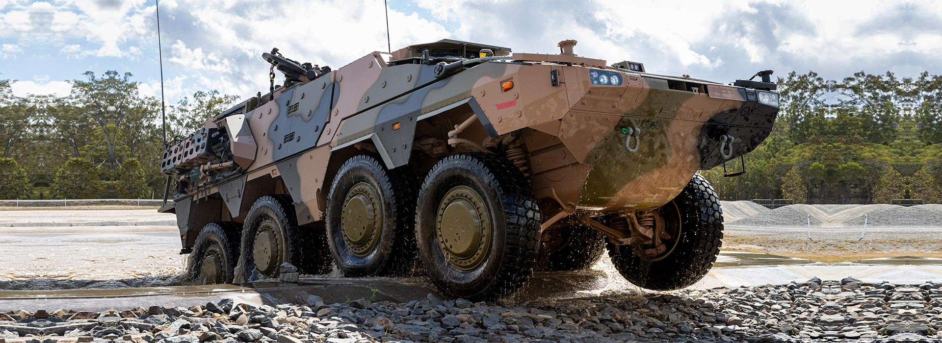Land Combat Vehicle System - major project