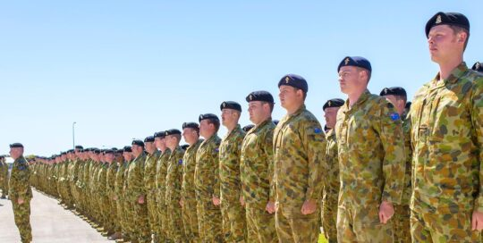 Ranks of personnel at RAAF Base Edinburgh